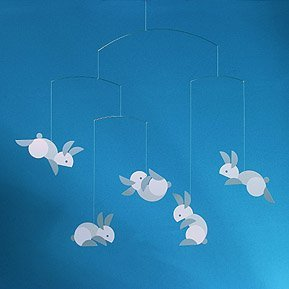 Mobile Flensted Circular bunnies