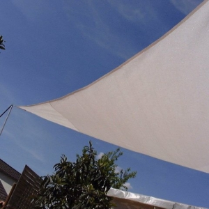 Sonnensegel gleichseitiges Dreieck 450 cm Kantenlänge, Shadenet